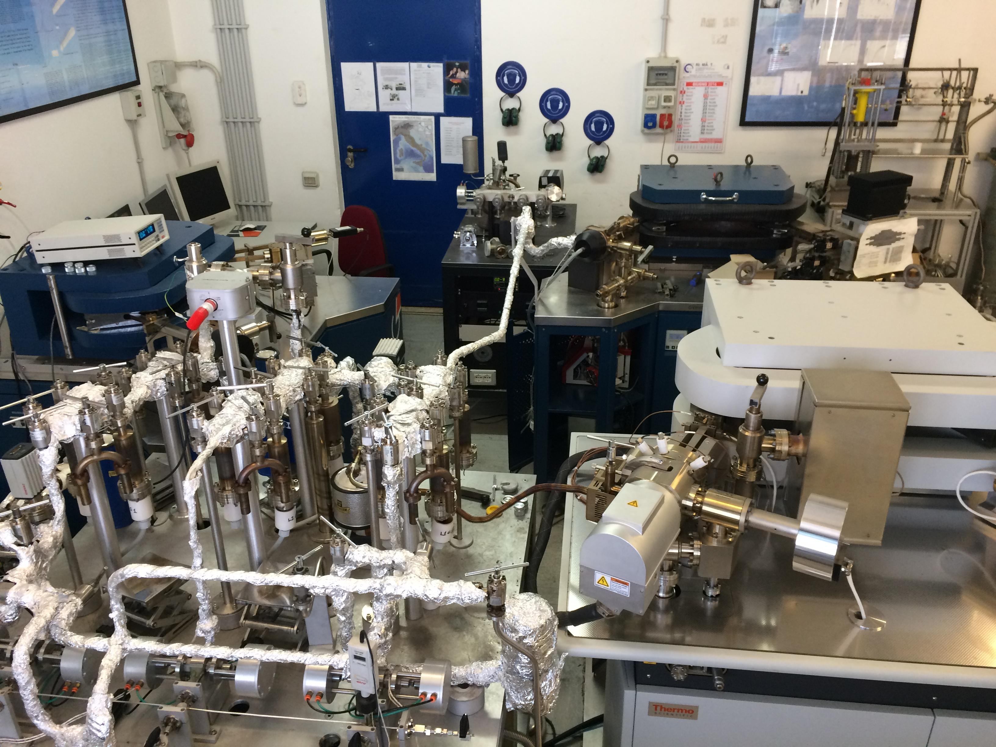 Fig. 1 Vista del laboratorio