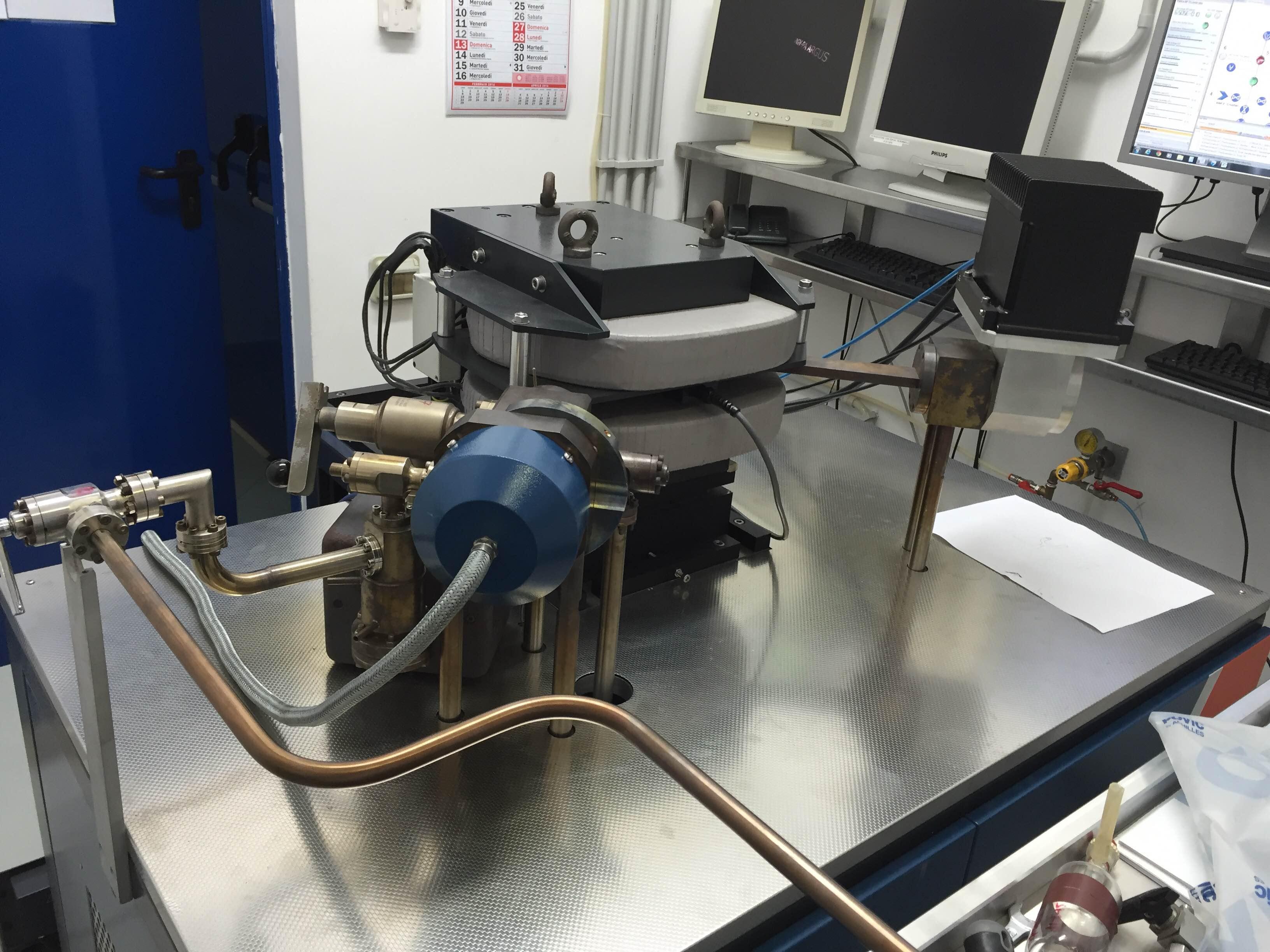 Fig. 7 Argus-GVI per analisi isotopi Ar in campioni di gas