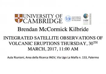 (Italiano) Seminario: Integrated Satellite Observations of volcanic eruptions