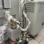 Fig. 23 Pompa criogenica (10°K) e sistema di pompaggio
