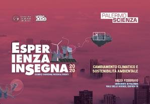 """(Italiano) Manifestazione scientifica annuale: Esperienza inSegna – """"Cambiamento climatico e sostenibilità ambientale"""""""